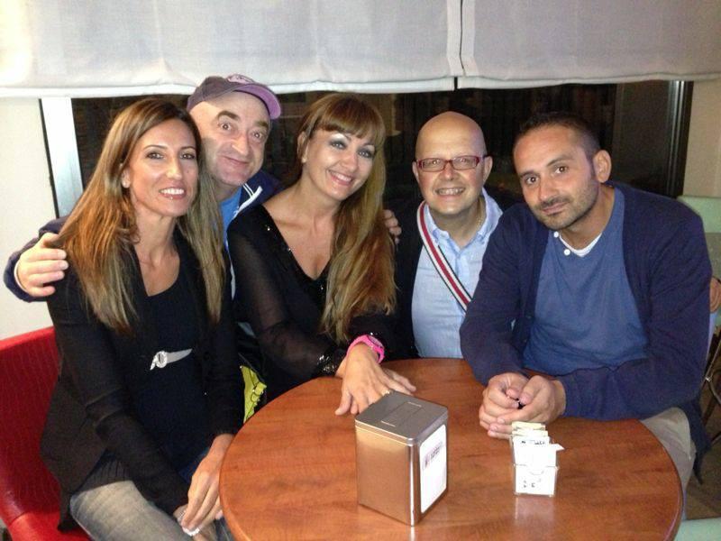 io e Rocco il Gigolò, Santino Caravella, Mariarita Piersanti e Gianna