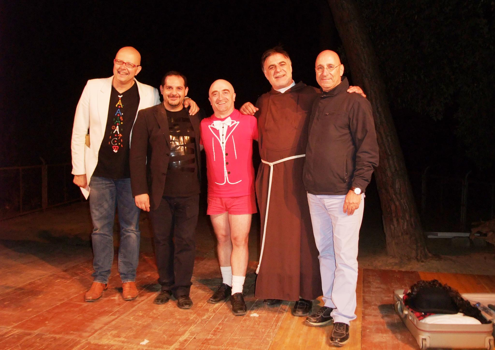 Io e Frate Mago, Aldo ruggeri, Rocco, e il grande Tullio Luciani